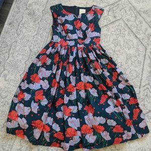 Modcloth vintage-inspired dress in Poppy print
